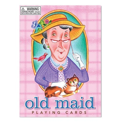 eeBoo Old Maid Playing Cards