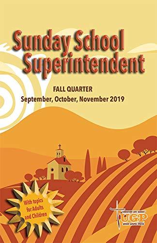 Amazon com : Union Gospel Press Sunday School Superintendent