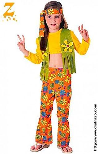Rubies - Disfraz de hippie para niña, 8-10 años (38692-L): Amazon ...