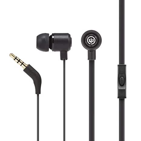 6710bbdfcff Amazon.com: Wicked Audio Panic Earbuds with Metal Housing and Enhanced  Bass, (New Moon): Electronics