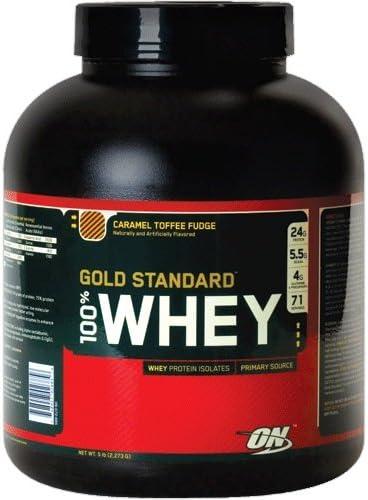 100% Whey Gold Estándar Proteína, Caramelo Toffee Fudge ...