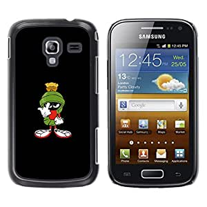 CASEMAX Slim Hard Case Cover Armor Shell FOR Samsung Galaxy Ace 2- FUNNY - MARTIAN
