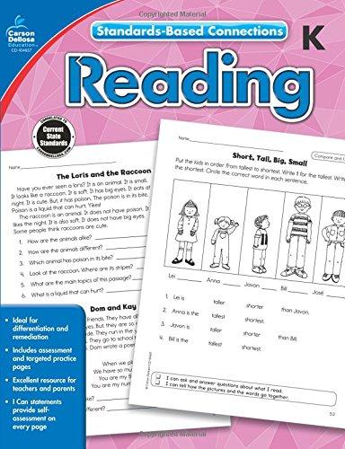 Reading, Grade K (Standards-Based Connections) PDF