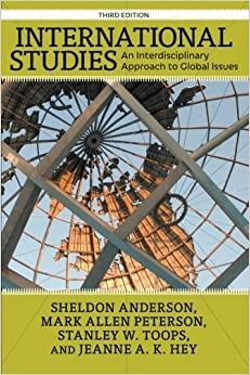Book International Studies: An Interdisciplinary Approach to Global Issues by Sheldon Anderson (2014-07-29)