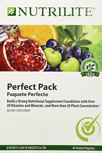 Amway Nutrilite Perfect Pack Health product image