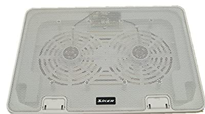 "SiKER 14""-17""Laptop Cooler -Super-slim Laptop Cooler Cooling Pad with Turbo Dual Fan (2 Fans) from SIKER"