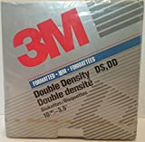 3M Double Sided Double Density 3.5'' Diskette Floppy Disk Box of 10 Lifetime Warranty