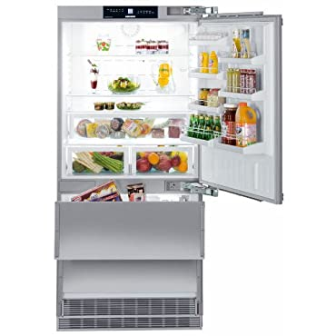 Liebherr HC2061 19.4 Cu. Ft. Gray Counter Depth Built-In Bottom Freezer Refrigerator Energy Star