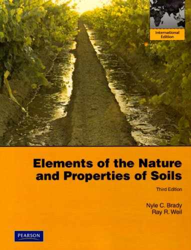Elements of the Nature and Properties of Soils