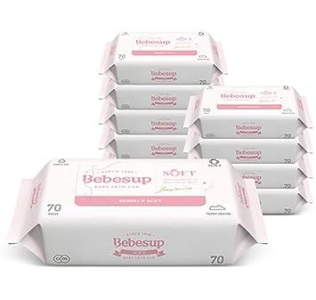 Amazon com : Bebesup Soft Embossed Premium Baby Wipes for