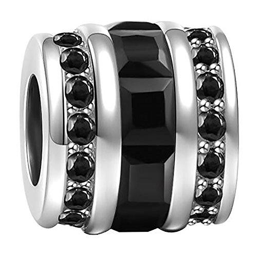 Black Diamond Charms - 8