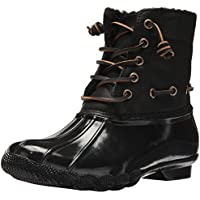 Steve Madden Women's Torrent Rain Boot (Black)