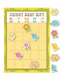Happi Tree Owl Theme Baby Shower Party Bingo Game - For up to 10 people