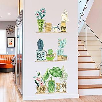 HY&GG Plantes De Jardin Meubles Décoration Murale Chambre Mur Fond ...
