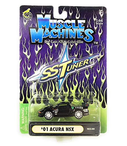 - RPM Muscle Machines SS Tuner 1:64 Scale Die Cast Cars ('01 Acura NSX Black)