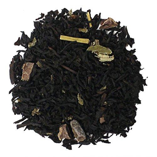 The Tea Farm - Sweet Chocolate Blueberry - Premium Fruit Loose Leaf Black Tea Blend (1 Pound Bag)