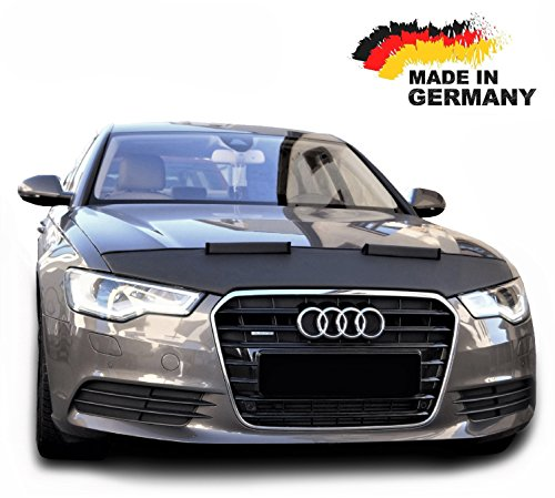 Hood Bra for Audi A6 C7 Bonnet Car Bra Front End Cover Nose Mask Stoneguard Protector TUNING