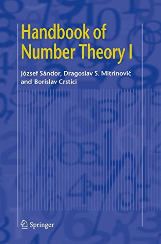 Download Handbook of Number Theory I (v. 1) ebook