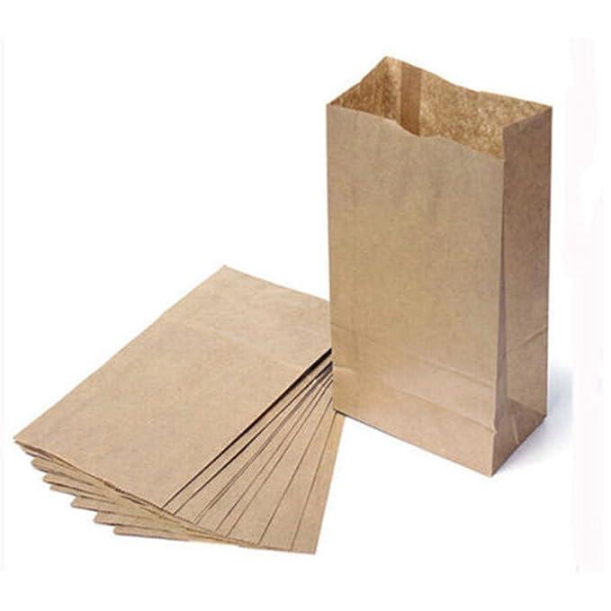 10 bolsas de papel kraft pequeñas para dulces, bolsa de ...