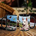 Imprints Plus Dog Breeds (E-P) German Shepherd White 15-oz Coffee Mug Bundle with Non-Negotiable K-Nine Cash (german shepherd white 081) 9