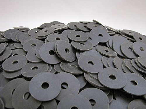 (100) Rubber Washers Endeavor Series Neoprene Rubber Washers 1 1/4'' OD X 5/16 ID X 1/16 by Primal23 Industrial