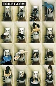 """Maxi Poster PLASTIFICADO. """"Toilet.Cam"""" (La camara del lavabo) para tipos divertidos y simpatizantes del sexo, las drogas y el Rock n Roll!!! Medidas aprox. 91,5 x 61 cm."""