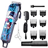 Cosyonall Pro Cordless Rechargeable Hair Clippers for Men Home Barber Clipper Kit for Kids Hair Cutting Kit with 2000mAh Lithium Ion, Titanium Ceramic Blade