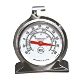 Stainless Steel Refrigerator/Freezer Thermometer | 2'' Dial
