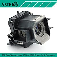ELPLP39, V13H010L39 Replacement Lamp for Epson EMP-TW1000 EMP-TW2000 Home Cinema 1080 PowerLite HC 1080