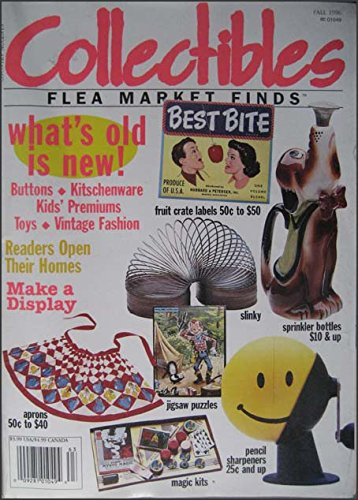 Collectibles Flea Market Finds Fall 1966 Vintage Aprons, Mag