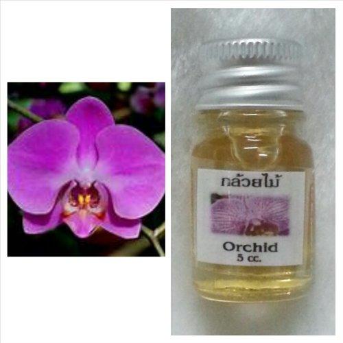 Orchid香りThai SpaアロマPure Essential/Fragrance Oil for Spa Bath、キャンドルランプBurner、5 ml B07CNTQ8MT