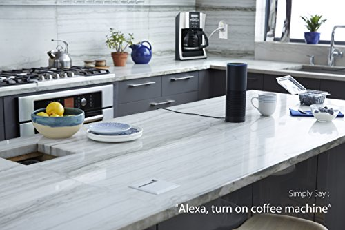 Large Product Image of Kasa Smart Wi-Fi Plug by TP-Link - Control your Devices from Anywhere, No Hub Required, Works with Alexa and Google Assistant (HS100)