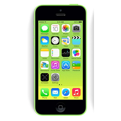 Apple iPhone 5c 32GB Unlocked GSM 4G LTE Phone - Green (Renewed) (Phone Cell Contract No Service)