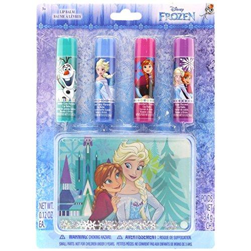 Disney Frozen Set Lip Balms con Estuche Decorado