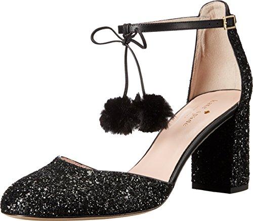 Bombas Kate Spade New York Para Mujer Abigail Glitter Black Glitter / Nappa