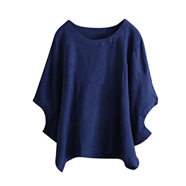 14a93b780be Womens Clothes Sale Batwing Sleeve Solid Sleeved Shirt Loose Vintage Blouse  Jersey Tunic Tops T-Shirts Dress  Amazon.co.uk  Clothing