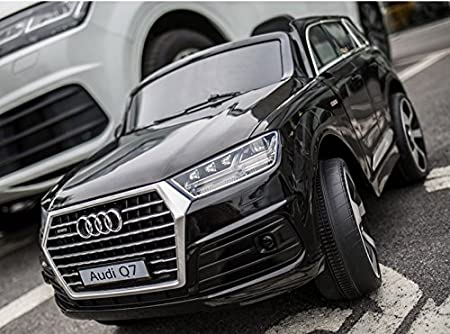 DTI DIRECT LICENSED AUDI Q7 RIDE ON CAR WITH REMOTE CONTROL  BLACK