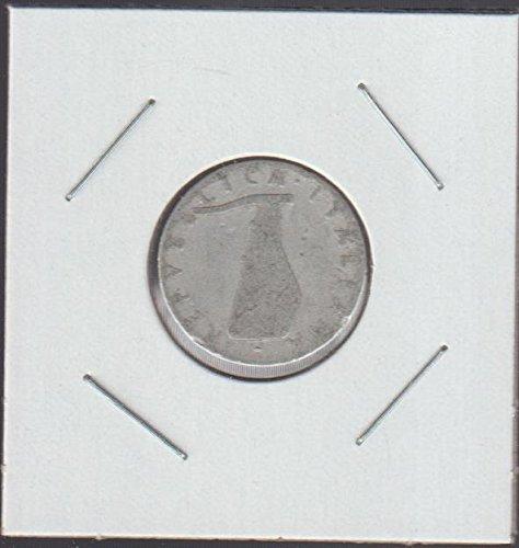 1953 Italy Rudder Nickel Very Good