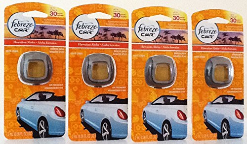 Febreze Car Vent Clip Air Freshener, Hawaiian Aloha 4 - Stores In Outlet Hawaii