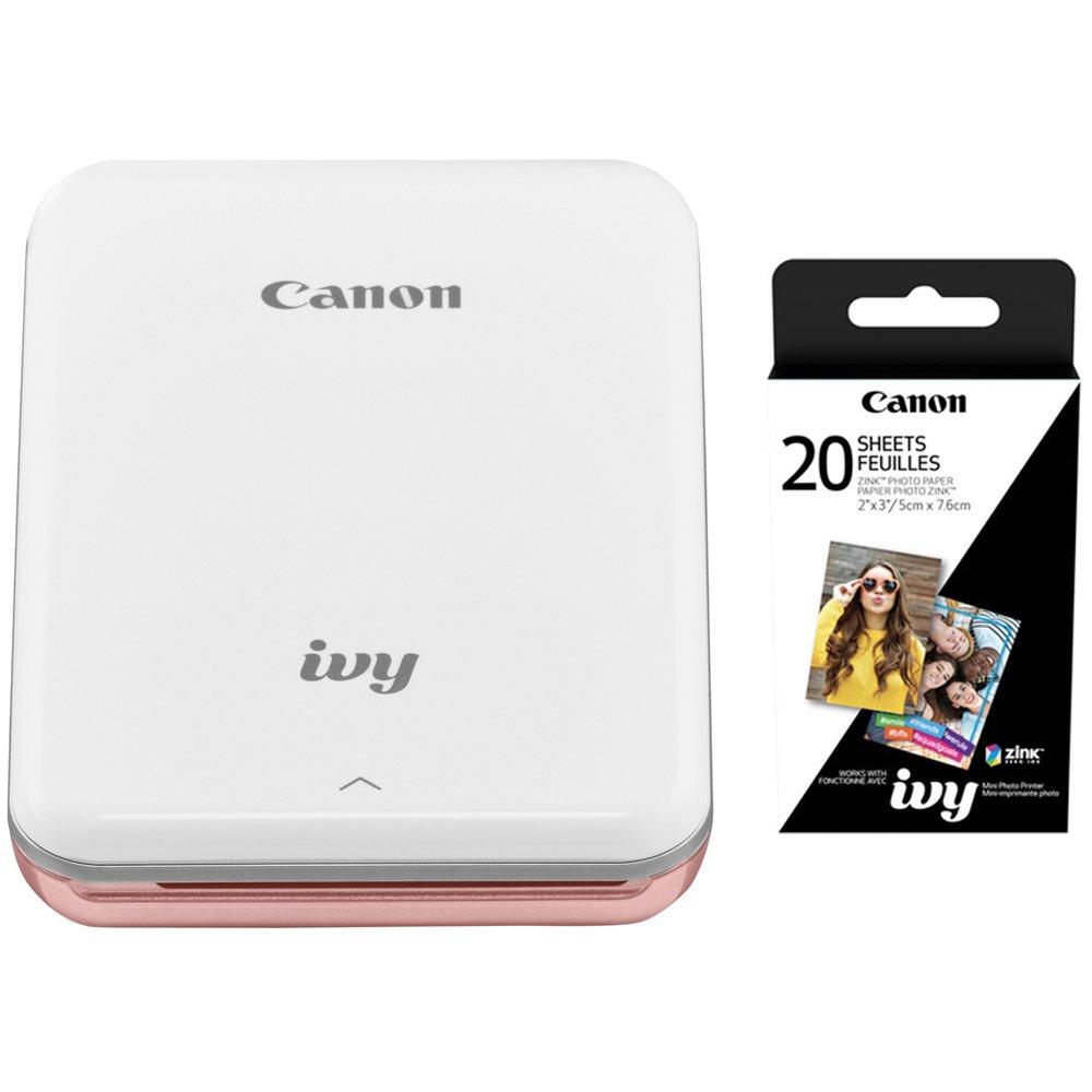 Canon IVY Mini - Impresora fotográfica móvil con Canon (2 x ...
