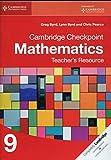 img - for Cambridge Checkpoint Mathematics Teacher's Resource 9 (Cambridge International Examinations) book / textbook / text book