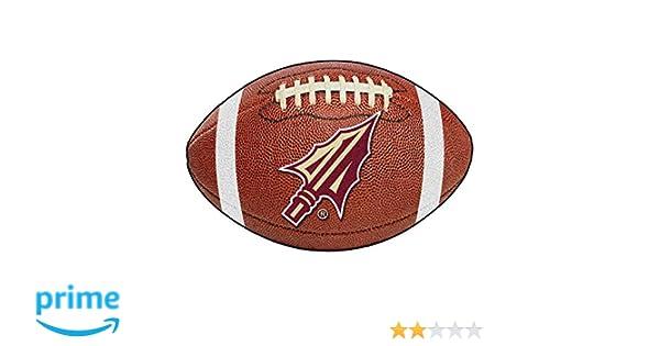 Florida State University Seminoles 22 x 35 Football Shaped Area Rug by Fan Mats Fan Mats 4319 FSU