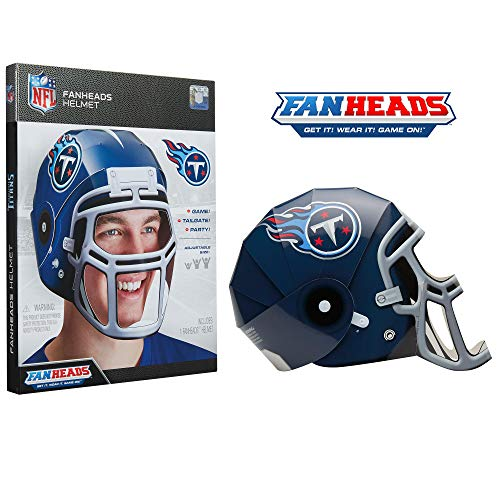 FanHeads Tennessee Titans - Wearable NFL Replica Helmets - Pick Your Team!, Blue