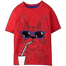 Gymboree Boys' Toddler Short Sleeve Crewneck Animal Graphic Tee