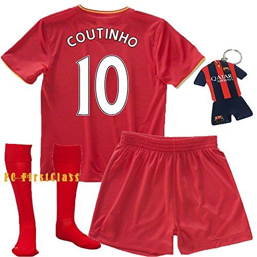 promo code f0811 04fa9 FC FirstClass 2017 Football Soccer Coutinho #10 Liverpool kids - Import It  All