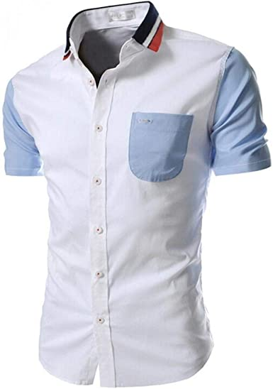 Camiseta Polo para Hombre Camiseta De Manga Deportiva Camiseta Camiseta Corta Único De Manga Corta De Manga Larga Moderna De Verano Camisa Básica De Ocio Sudadera con Capucha Sudadera con Cuello: Amazon.es: