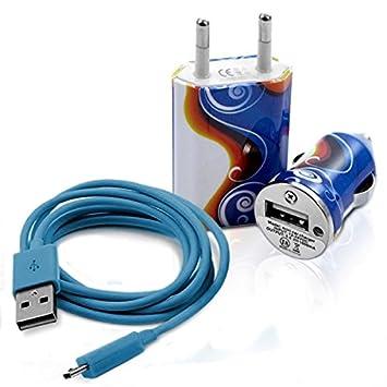 Seluxion - Cargador auto Sector USB diseño cv15 para Samsung ...