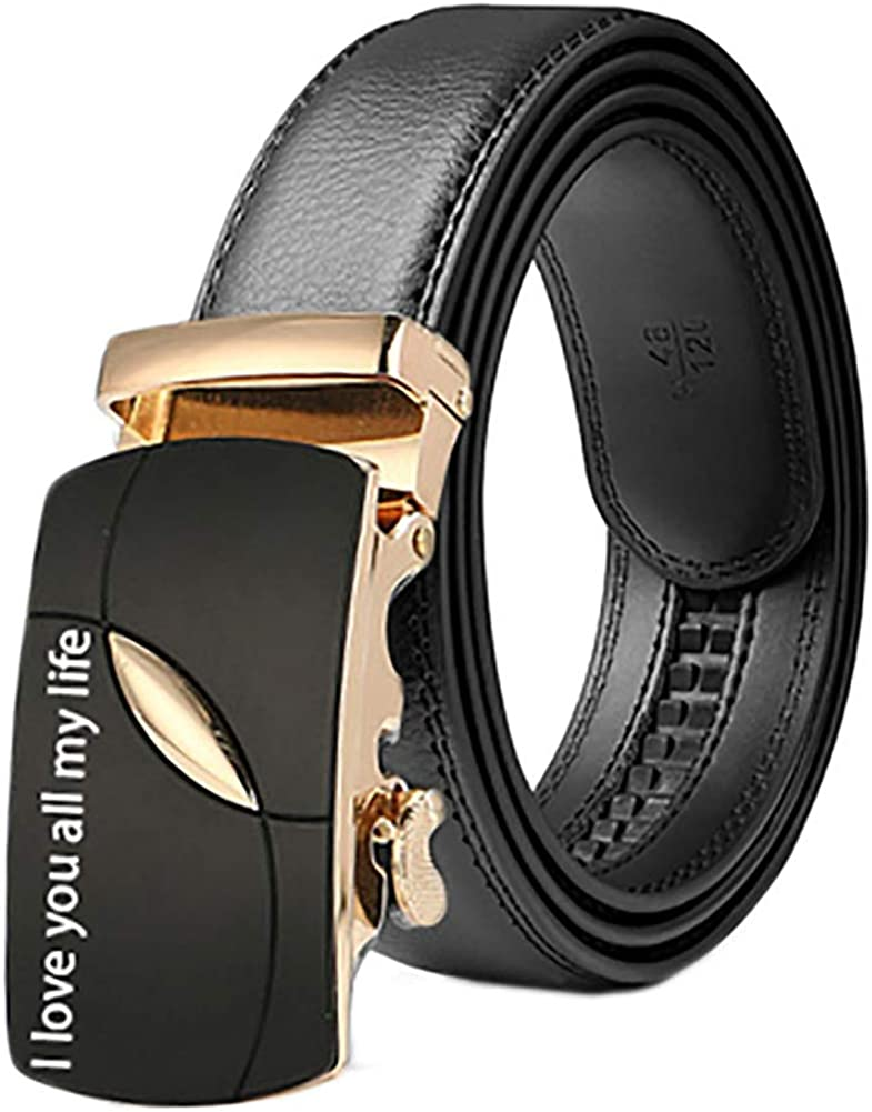 Yanday Cinturón Ajustable Cinturón Personalizado Personalizado Cinturón Para Hombres Texto Grabado Y Logotipo Regalo Del Día Del Padre