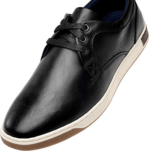 VOSTEY Men's Casual Shoes Fashion Sneakers for Men Business Casual Oxford Sneakers