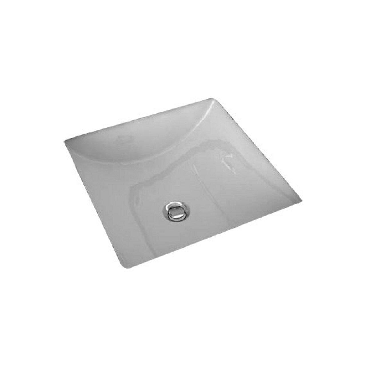 American Standard 0426000.020 Studio Carre 13 by 13-Inch Undercounter Sink, White by American Standard
